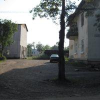 Вид от 6й школы на 4ю., Чегдомын