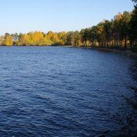 Берега озера Синара / Coast of the lake Sinara (04/10/2007), Снежинск
