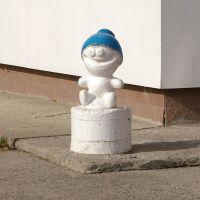 """Скульптура """"Снежик"""" / Sculpture """"Snezhik"""" (05/10/2007), Снежинск"""