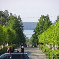 Бульвар на Синару 24.05.2005, Снежинск