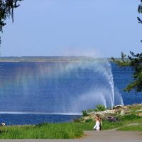 Радуга в фонтане 04.06.2005, Снежинск