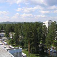 Вид на лес, Снежинск