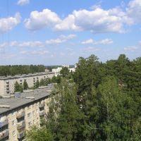 Вид на город, Снежинск