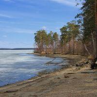 Весна на озере Синара, Снежинск