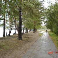Снежинск, берег озера, Снежинск