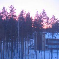 Зимняя заря, Снежинск