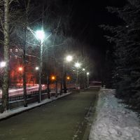Ночной Трехгорный., Трехгорный