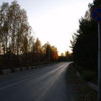 дорога к мосту, Трехгорный