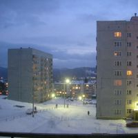 Зима, Трехгорный