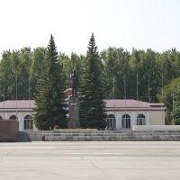 Ozersk, Lenina sqr, Aug-2008, Озерск