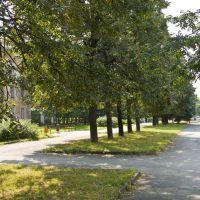 Ozersk, Fetisova square, Aug-2008, Озерск