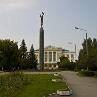 Ozersk, B. V. Brokhovicha sqr (ex. Komsomoltsev), Aug-2008, Озерск