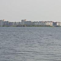 Ozersk, Irtyash lake, Zaozerniy (15) distr., Aug-2008, Озерск