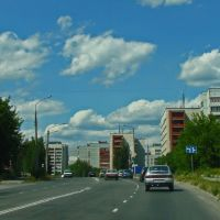 entry to the city, Озерск