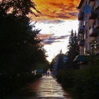 after the rain, Озерск