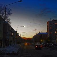 evening, Озерск