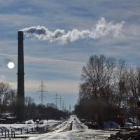 Smoke from the chimneys, Озерск