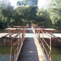 Пантонный мост, Агаповка