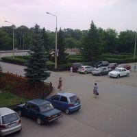 Аргаяш, центральная площадь. Вид с Арго., Аргаяш