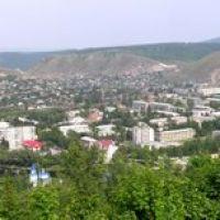 г.Аша. Панорама  с Липовой горы., Аша