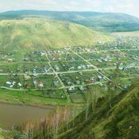 Соколиные скалы, Аминовка, Панорама, Аша