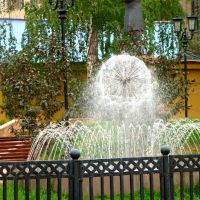 Основатель АМЗ в фонтане, Аша