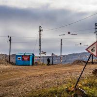 Bakal, Severnaya ulitsa, checkpoint, Бакал