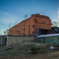 Bakal, Komsomolskaya ulitsa, ruins, historical buildin, Бакал