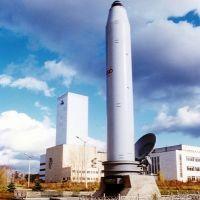 Памятник межконтинентальной ракете подводного старта «Синева» (РСМ-54) /   The monument of intercontinental ballistic missile «Skiff». Unique in the world, Бреды