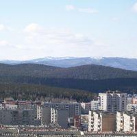 Город в горах / City in mountains, Бреды