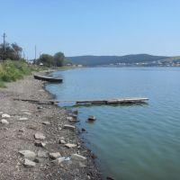 Городской пруд - вода отступила, Верхний Уфалей