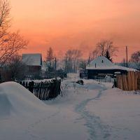 Зимний вечер, Верхний Уфалей