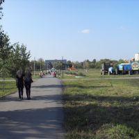 Еманжелинск - Городской сквер (август 2009), Еманжелинск