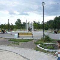 городской сквер, Еманжелинск