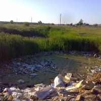 Свалка возле пос. Пионерский, Еманжелинск