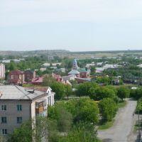 Вид с водонапорной башни, Еманжелинск