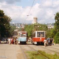 KTM5 in der Ulica Karla Marksa, Златоуст