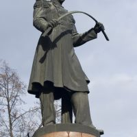 P.P. Anosov monument. Steel founder, engineer and inventor., Златоуст