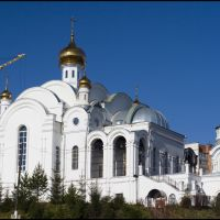 A new temple construction would be completed soon., Златоуст