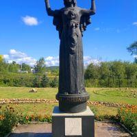 Скульптура Оранта молящаяся, Златоуст