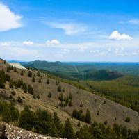 Восточные склоны Золотой горы, Карабаш