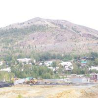 Вид на Золотую гору с низу / Golden mountain, Карабаш