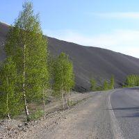 Отвалы, Карабаш