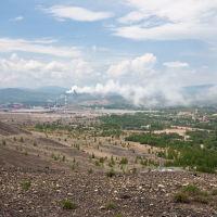 Карабаш. Вид с Лысой горы, Карабаш