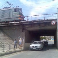 Проезд под железной дорогой, Карталы