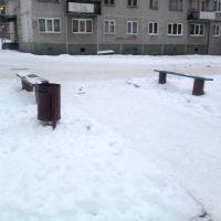Скамейки на ул. Ленина, Катав-Ивановск