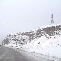 Дорога возле скал, Катав-Ивановск