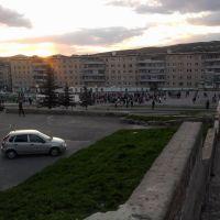 9 мая вечер 2013 Закат, Катав-Ивановск
