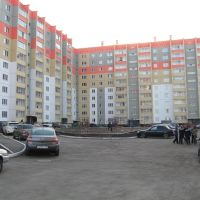 Вид на дом Калинина 16, Копейск