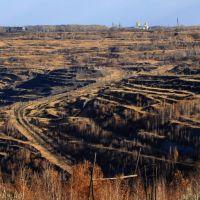 Коркинский угольный разрез 2010г!, Коркино